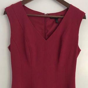 New Burgundy Dress (White House Black Market)
